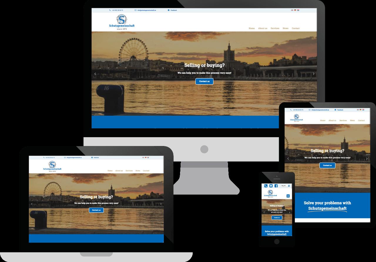 Schutzgemeinschaft (Torremolinos-Málaga) ha eligido a Tisda como su agencia diseño web