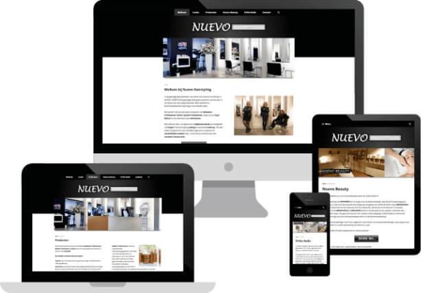 Ejemplo de un diseño web barato